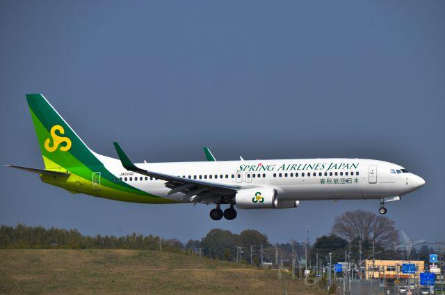 Boeing 737-800 (JA01GR) - Rwy 16L,NRT