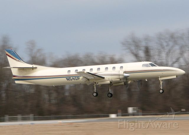 Fairchild Dornier SA-227DC Metro (N54GP) - About to touch down on 14 at the Downtown Shreveport airport. One of my favorite aircraft.