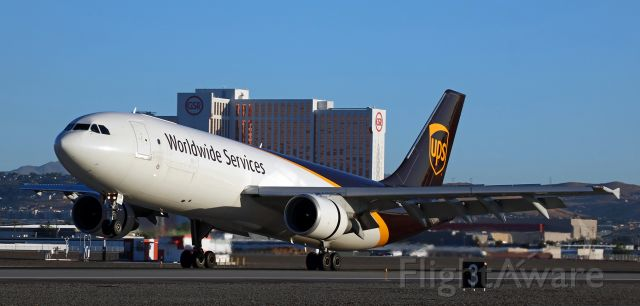 Airbus A300F4-600 (N158UP) - Arriving yesterday morning (6:35 AM) from Sacramento's Mather (KMHR).
