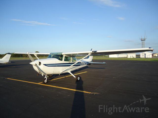 Cessna Skyhawk (N65045) - N65045 Cessna Skyhawk 172P on the ramp at Redwood Falls, MN (KRWF)