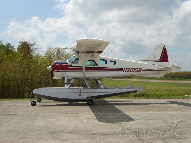 De Havilland Canada DHC-2 Mk1 Beaver (N21058)