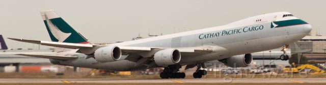 BOEING 747-8 (B-LJE) -  Cathay Pacific B747-867(F) B-LJE