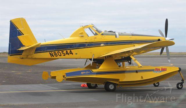 AIR TRACTOR Fire Boss (N80544) - 18/06/2020 Aeroporto de Santa Maria - Açores