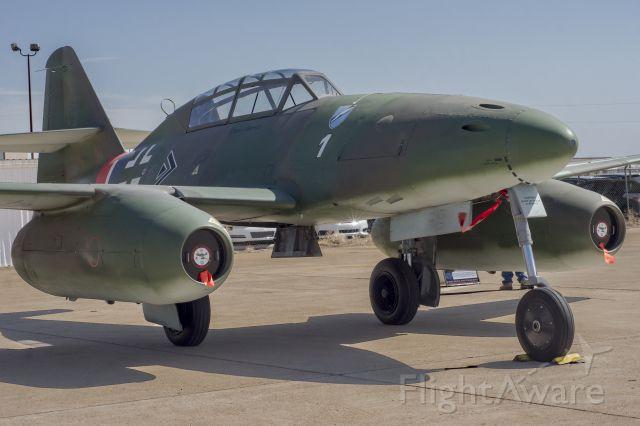 MESSERSCHMITT Me-262 Replica (N262AZ) - Me-262 at Rick Husband International Airport.