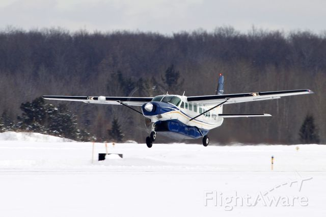 Cessna Caravan (N4118K) - WBR 2803 taking off from Ironwood, MI heading to Chicago O