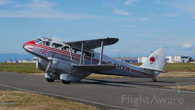 De Havilland Dragon Rapide (N683DH) - Historic Flight Foundations DeHavilland DH-89A Mk IV Dominie/Dragon Rapide (C/N 6782) returns to their ramp after a flight on 7.21.18.