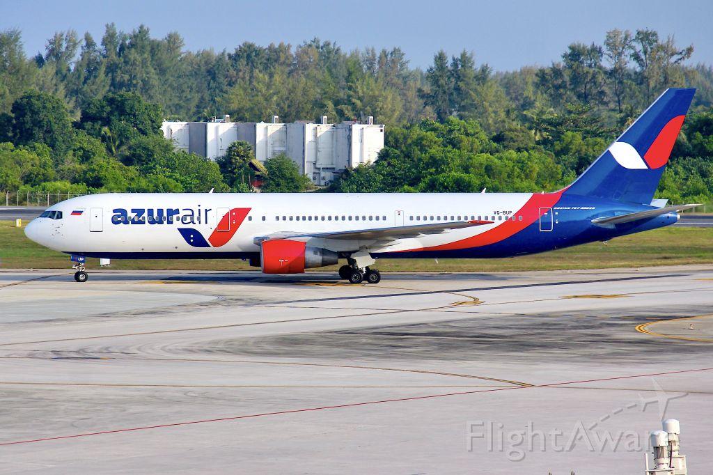 BOEING 767-300 (VQ-BUP)