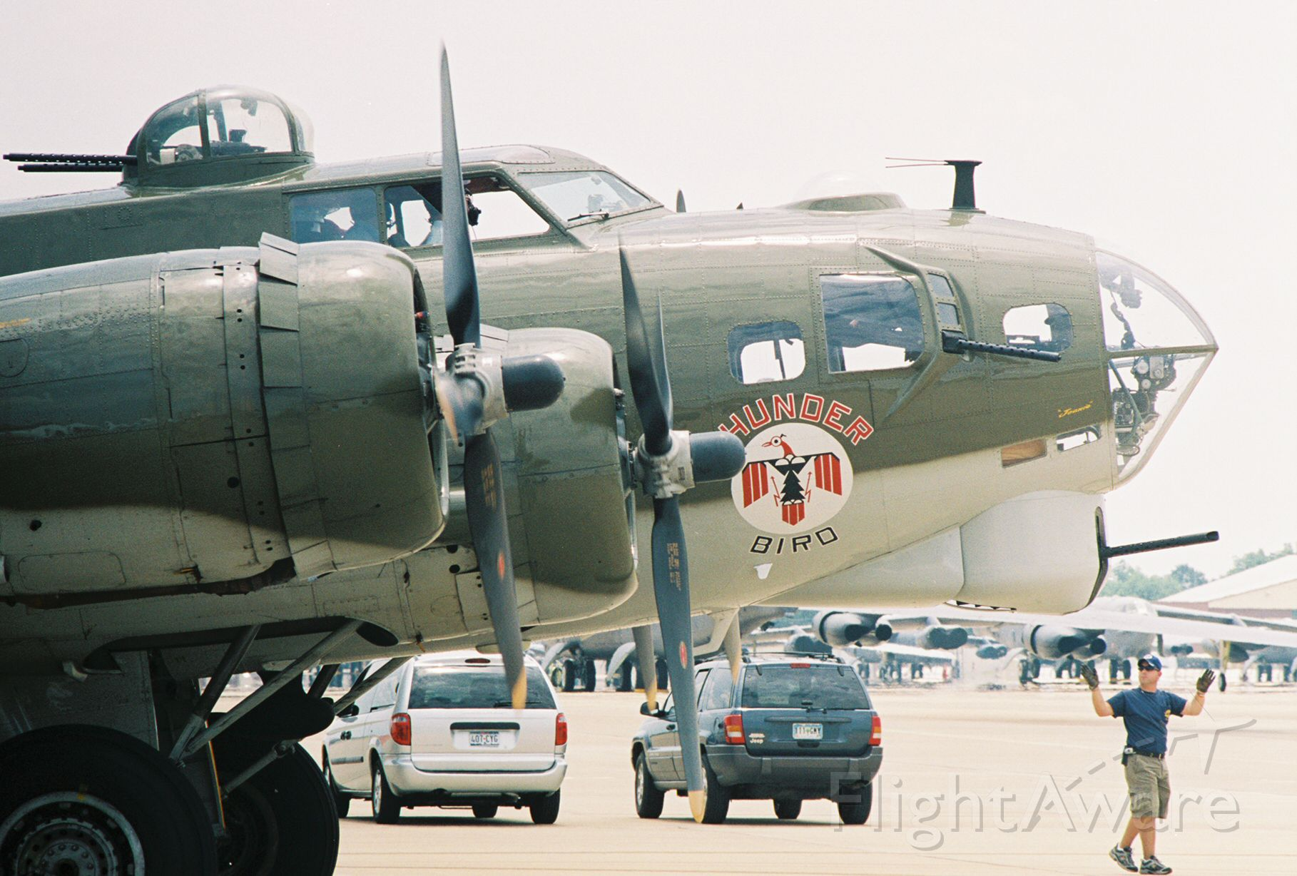 Boeing B-17 Flying Fortress (N900RW) - Commemorative Air Force