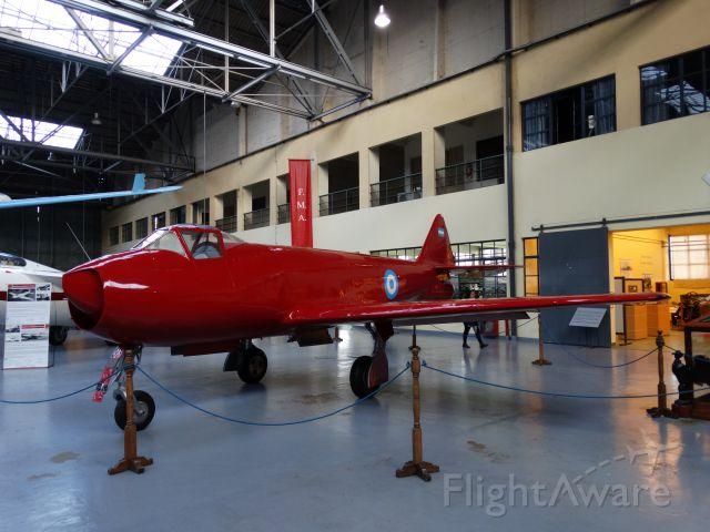 IAX27 — - FMA IAe-27 PULQUI I / FUERZA AEREA ARGENTINA / MUSEO NACIONAL DE AERONAUTICA / MORON-ARGENTINA.