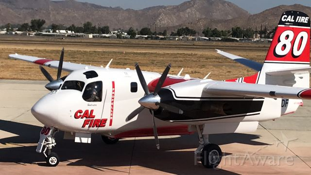 MARSH Turbo Tracker (N445DF) - Tanker 80 loading 1200 gal of Foscheck for a local socal fire.