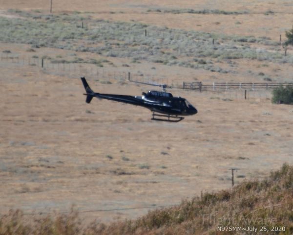 N975MM — - West End Antelope Valley over California State Aqueduct...
