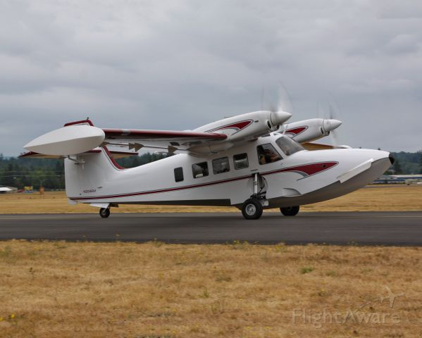 """Unknown/Generic Undesignated (N204EM) - N204EM, AKA """"The"""" Gweduck.  Seen here at AWO for the 2015 Arlington Fly-In"""