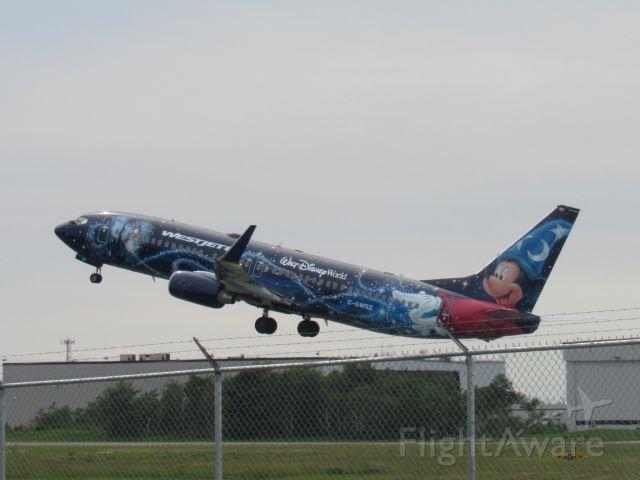 Boeing 737-800 (C-GWSZ) - Walt Disney World Special Livery