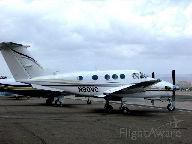 Beechcraft King Air 90 (N90VC) - Parked at Santa Ana