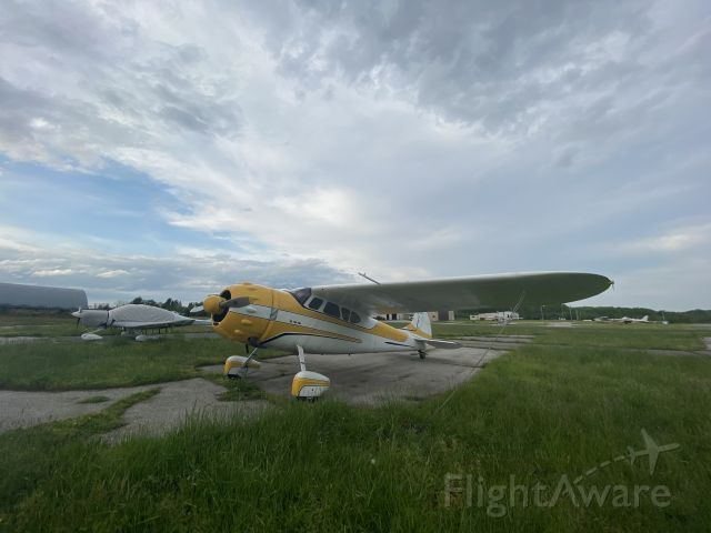 Cessna LC-126 (N4310V) - Sunset at Freeway Airport