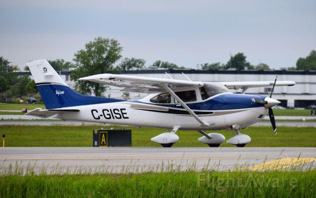 Cessna Skylane (C-GISE) - Photo Taken June 2019<br /><br />First photo of C-GISE on FlightAware