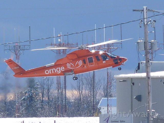 C-GIMW — - landing at ornge air ambulance hangar