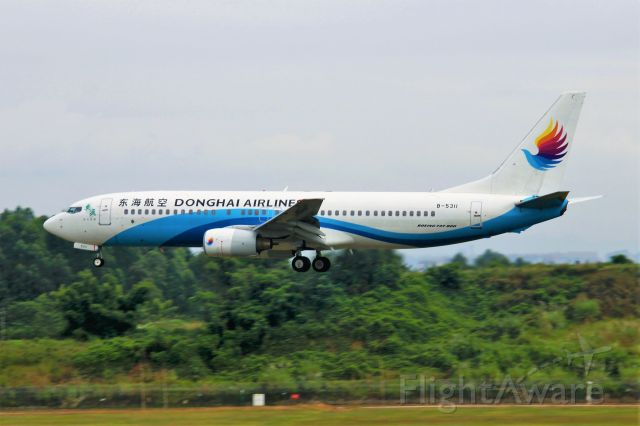 Boeing 737-800 (B-5311) - TIPS:Select full-size and wait for a while for better view.