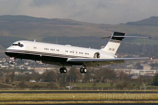McDonnell Douglas MD-87 (VP-CNI) - From a good 10 years ago.
