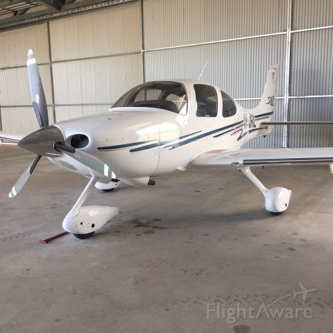 Cirrus SR-22 (VH-JRL) - In the hanger at Warnervale N.S.W. Australia