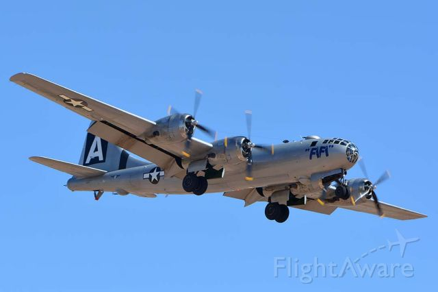 Boeing B-29 Superfortress (N529B) - Commemorative Air Force Boeing B-29 Superfortress N529B Fifi at Phoenix-Mesa Gateway Airport on April 15, 2017.