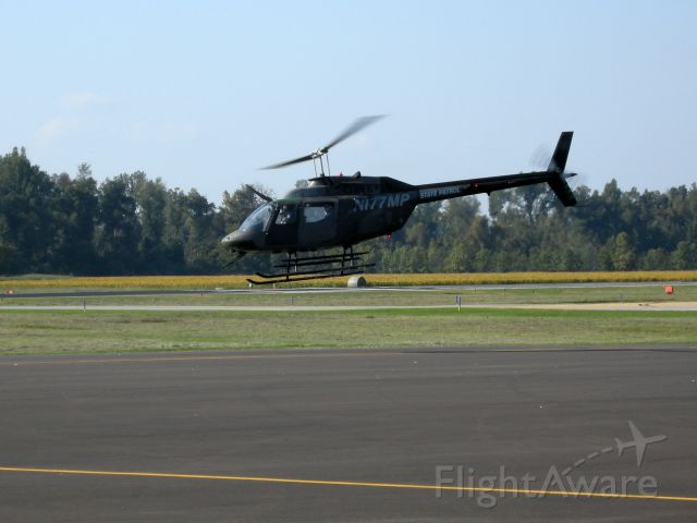 N177MP — - Missouri Highway Patrol helicopter departs KPOF.