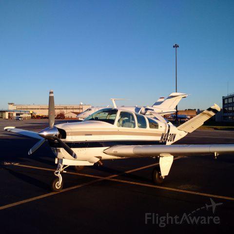 Beechcraft 35 Bonanza (N4430W) - N4430W at KBED