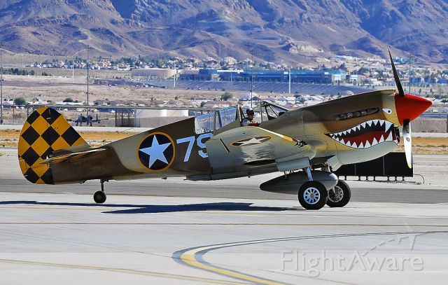 — — - Curtiss P-40N Warhawk NL85104 / 79 (cn 28954) Planes of Fame Air Museum.  Nellis Air Force Base Aviation Nation 2010 TDelCoro