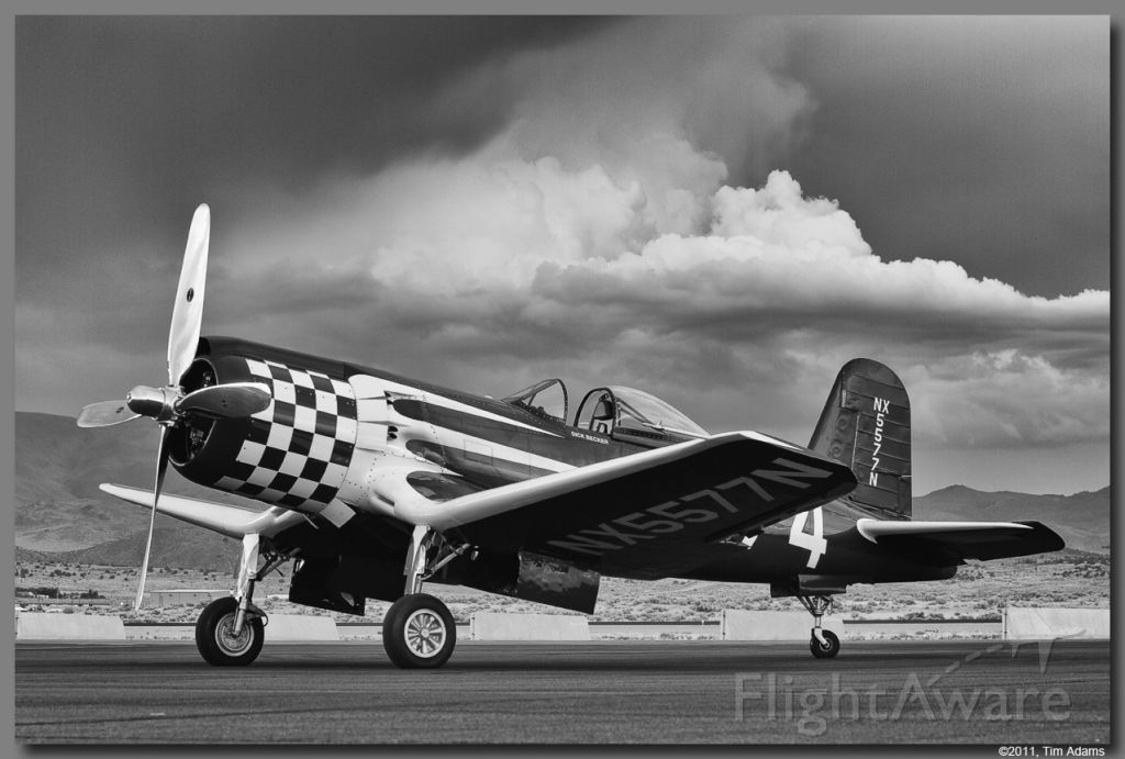 — — - Race 74 black and white conversion from race week at Reno.