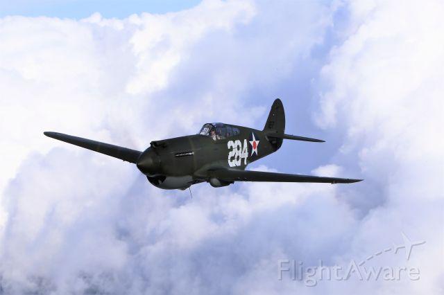 NX284CF — - Last Surviving Pearl Harbor P-40 still in the air.
