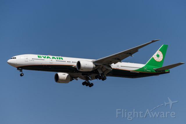 BOEING 777-300ER (B-16732) - EVA air's b-77w landed at zspd-19.4.12
