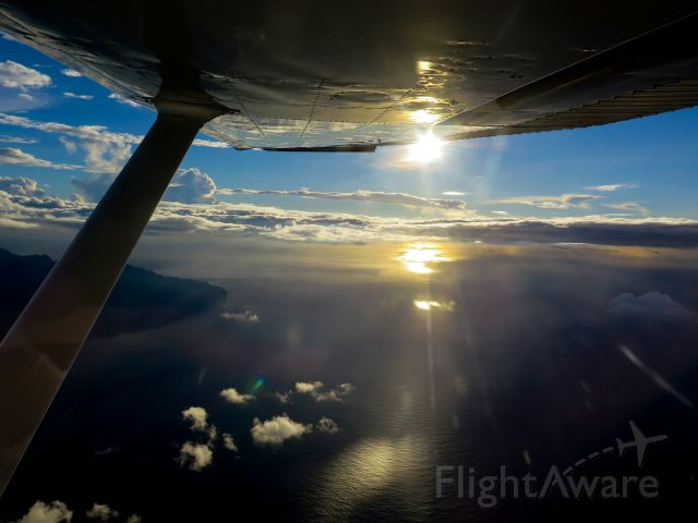 Cessna Skylane (N1967X) - Between Dominic and Martinique