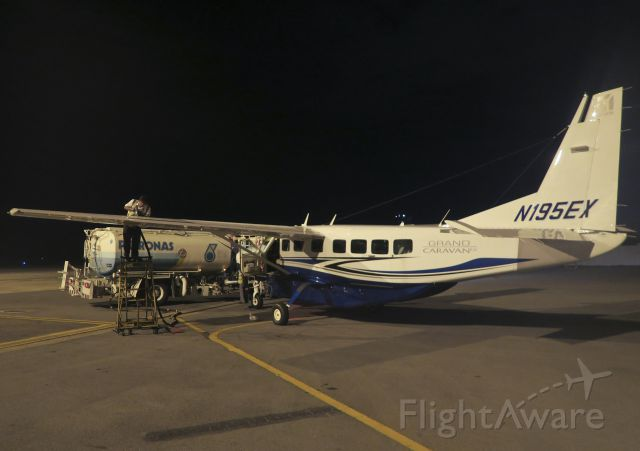 Cessna Caravan (N195EX) - On a ferry flight from Singapore to the USA. January 2016.