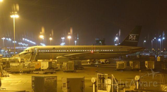 Airbus A320 — - PIA Retro A320 in Abu Dhabi