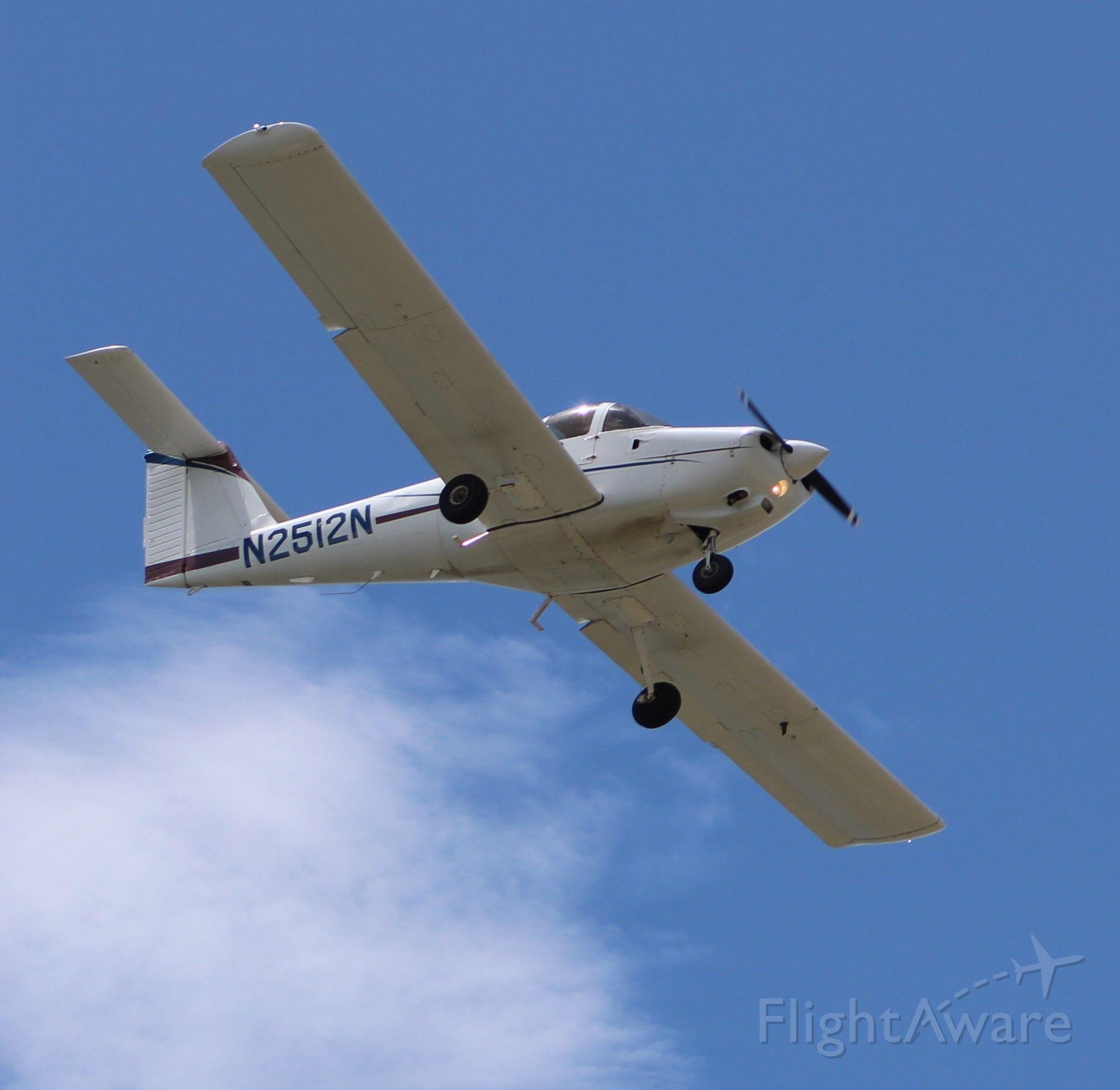 Piper Tomahawk (N2512N) - Pattern work in KEYW