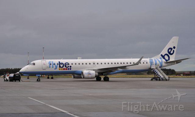 Embraer ERJ-190 (G-FBEG) - Flybe Embraer ERJ-195LR G-FBEG in Inverness Airport
