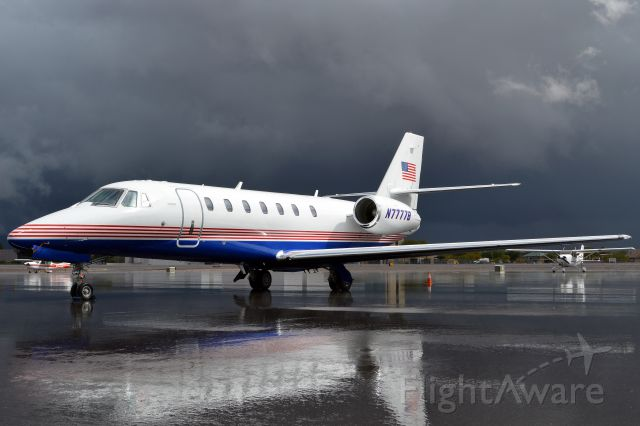 Cessna Citation Sovereign (N7777B) - After a storm had passed.