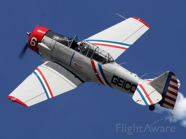 North American T-6 Texan (N62382)