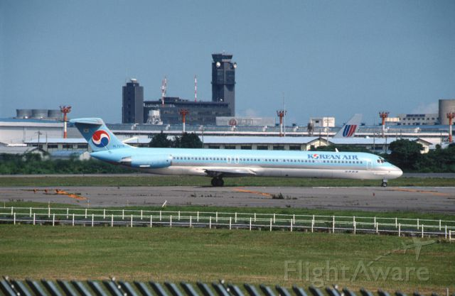 McDonnell Douglas MD-81 (HL7276) - Departure at Narita Intl Airport Rwy16 on 1989/07/22