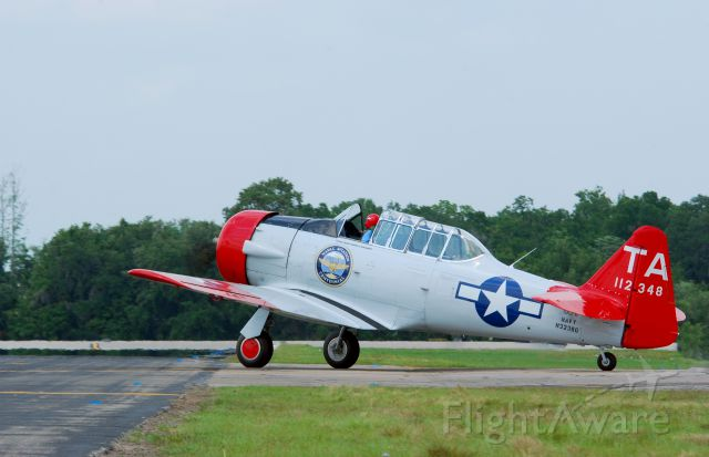 North American T-6 Texan (N3238G) - 2013 Sun n Fun Parade of Planes