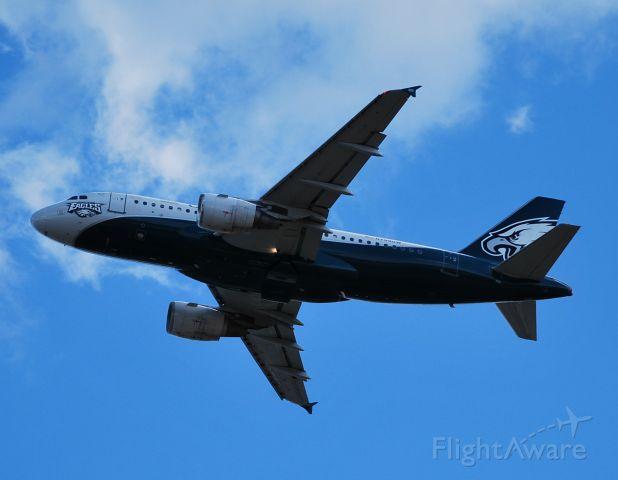 Airbus A319 (N709UW) - Departing 36C - 11/6/10
