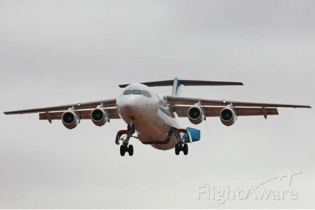 British Aerospace BAe-146-300 (VH-NJN) - VH-NJN on short final to RWY 09 YMEK