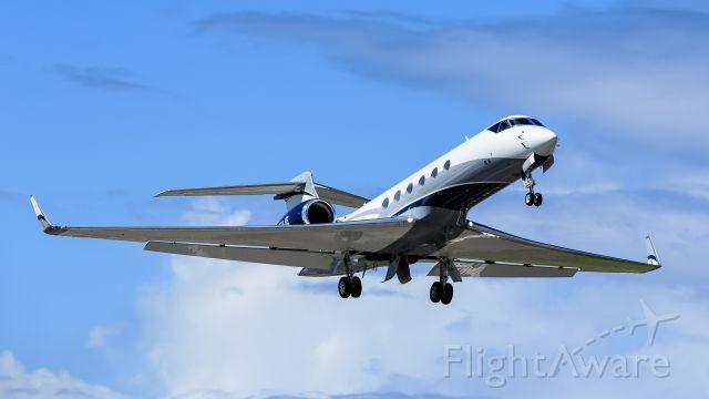 Gulfstream Aerospace Gulfstream V (N50JE) - EPC Holdings 818 LLC Gulfstream V N50JE departing TNCM St Maarten for the USA