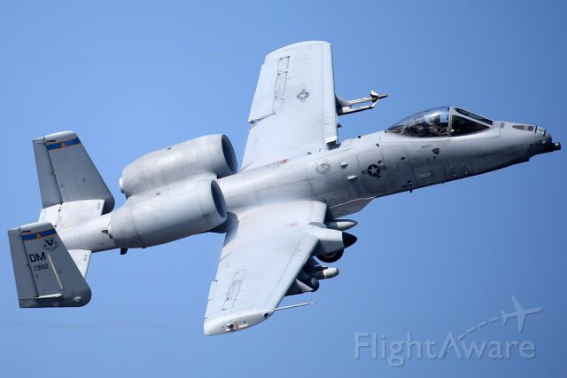 Fairchild-Republic Thunderbolt 2 — - Deployed to Europe for a few months, this A10 departs Lakenheath for Germany.
