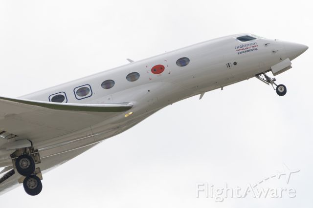 Gulfstream Aerospace Gulfstream G650 (N650GX) - This plane flew as GLF89 did a touch and go at Wheeler Airport, KC, MO, and went on to Texas.  Just wondering why they are still flying an experimental plane?