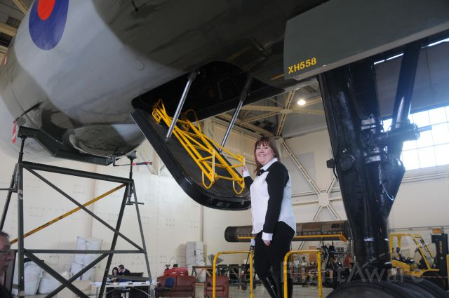 G-VLCN — - The LAST FLYING Vulcan XH 558.... with the FIRST LADY Pilot ?