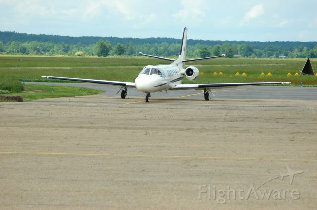 Cessna Citation II (N280TA) - Headed to the terminal