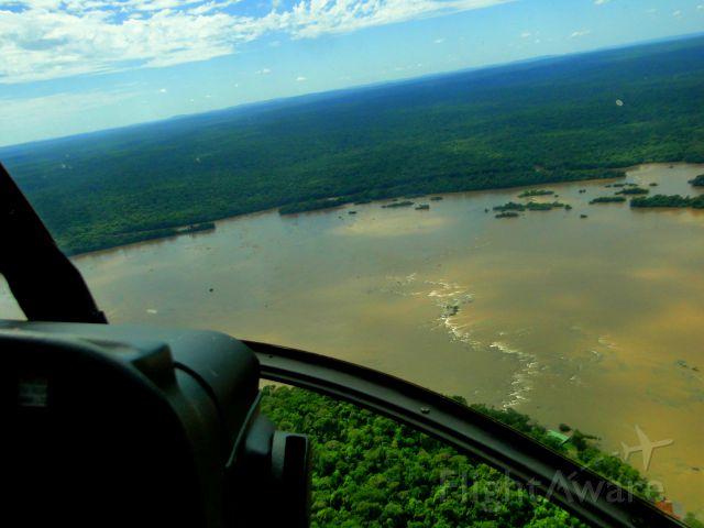 MD HELICOPTERS MD-600N (PR-HLS) - FLYING IN FOZ DO IGAÇÚ-PR, BRAZIL