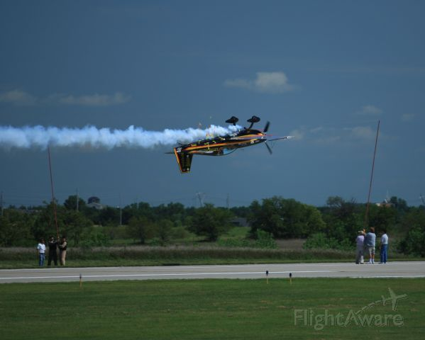 N68PW — - Patty cutting the ribbon during the 2008 Wichita Flight Festival at Col. James Jabara Airport.