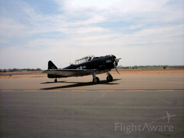 North American T-6 Texan — - The prop!!